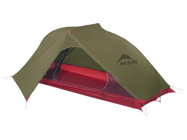 MSR Carbon Reflex 1 Telt grøn/rød